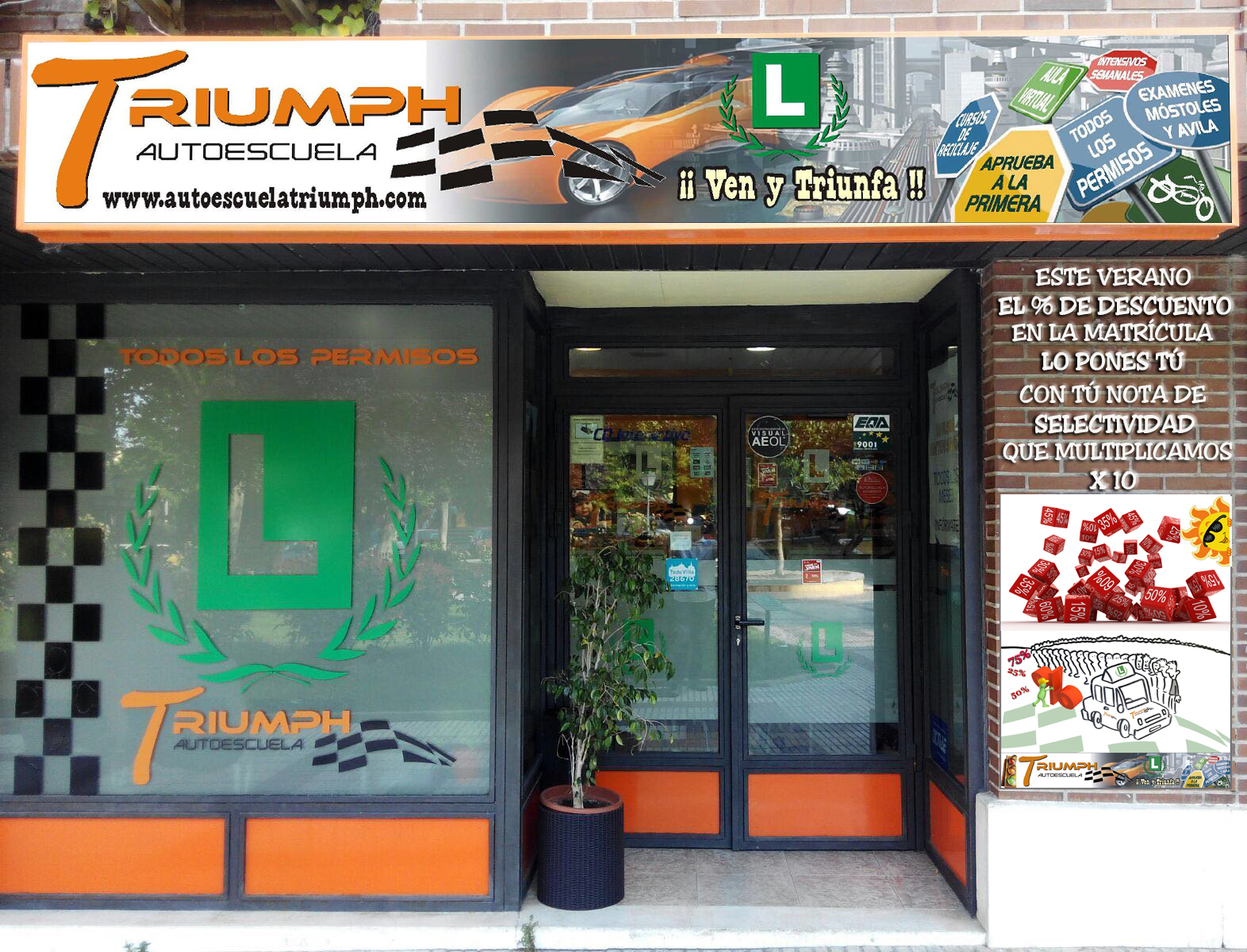 Autoescuela Triumph Villaviciosa de Odón
