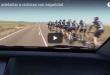 como adelantar a ciclistas